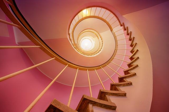 instalación de parquet en escaleras